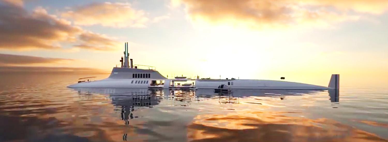 Submersable SuperYacht