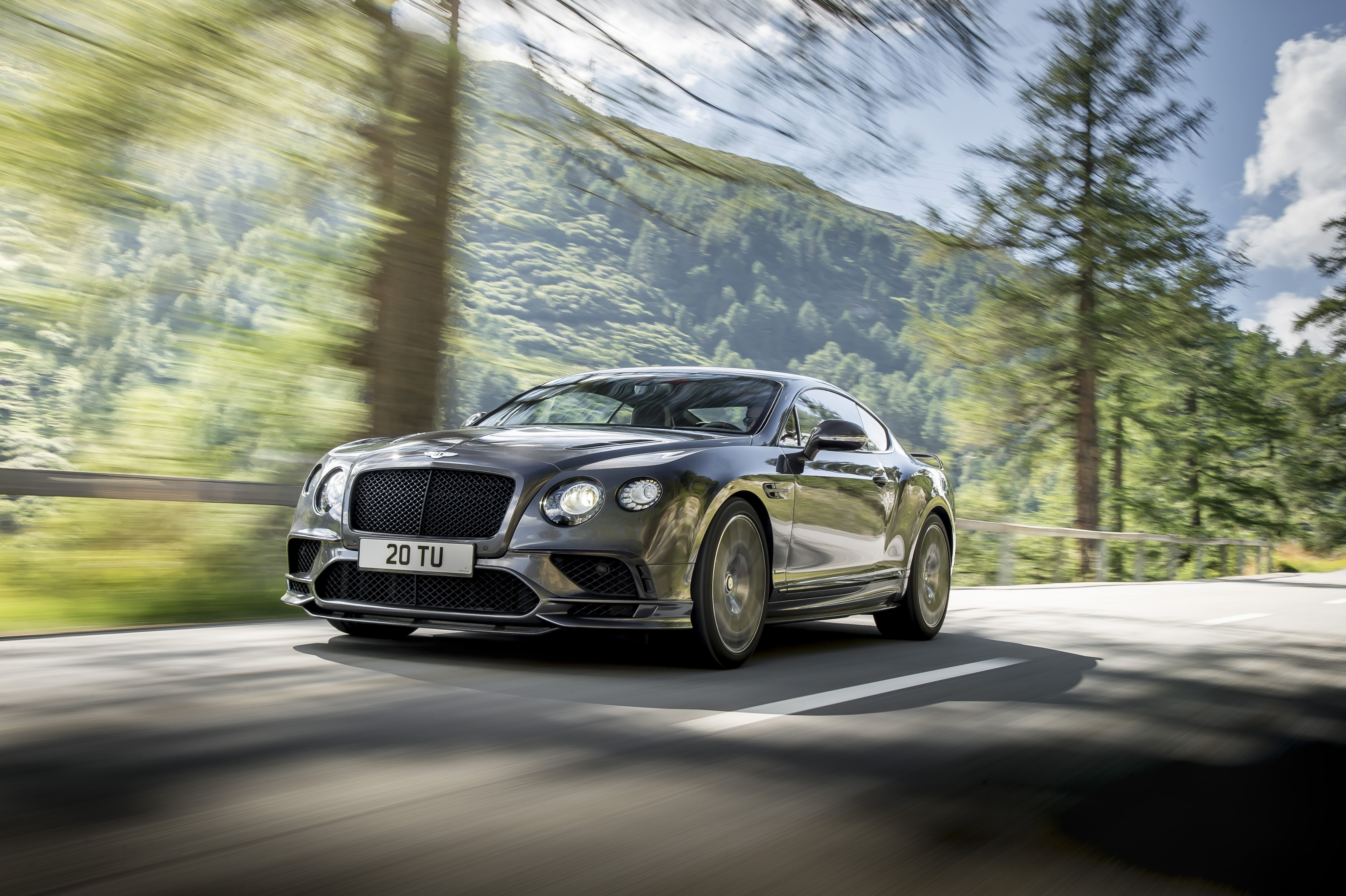 Bentley's Continental Supersports is a Badass Bombshell
