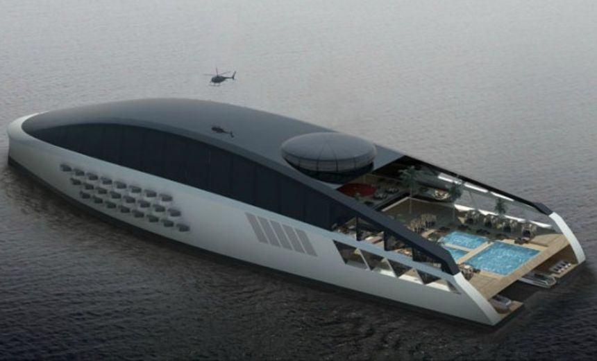 This Awesome Concept is the Luxury Superyacht of the Future