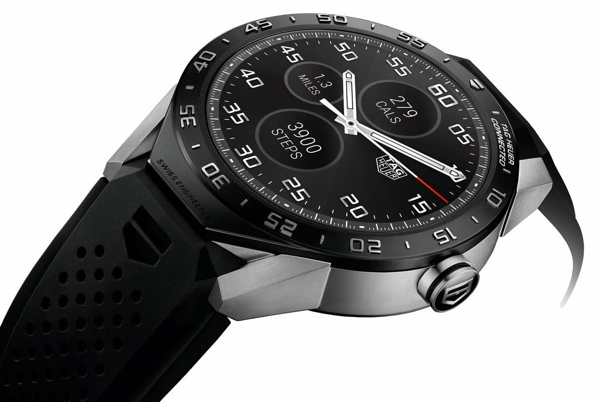 TAG Heuer, Google Unveil a Smart Watch That Actually Looks Amazing