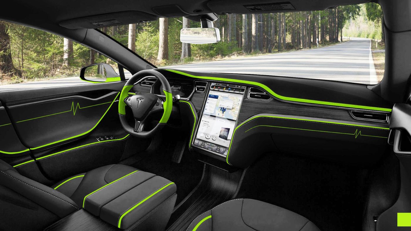 Tesla S Mansory Interior 2b