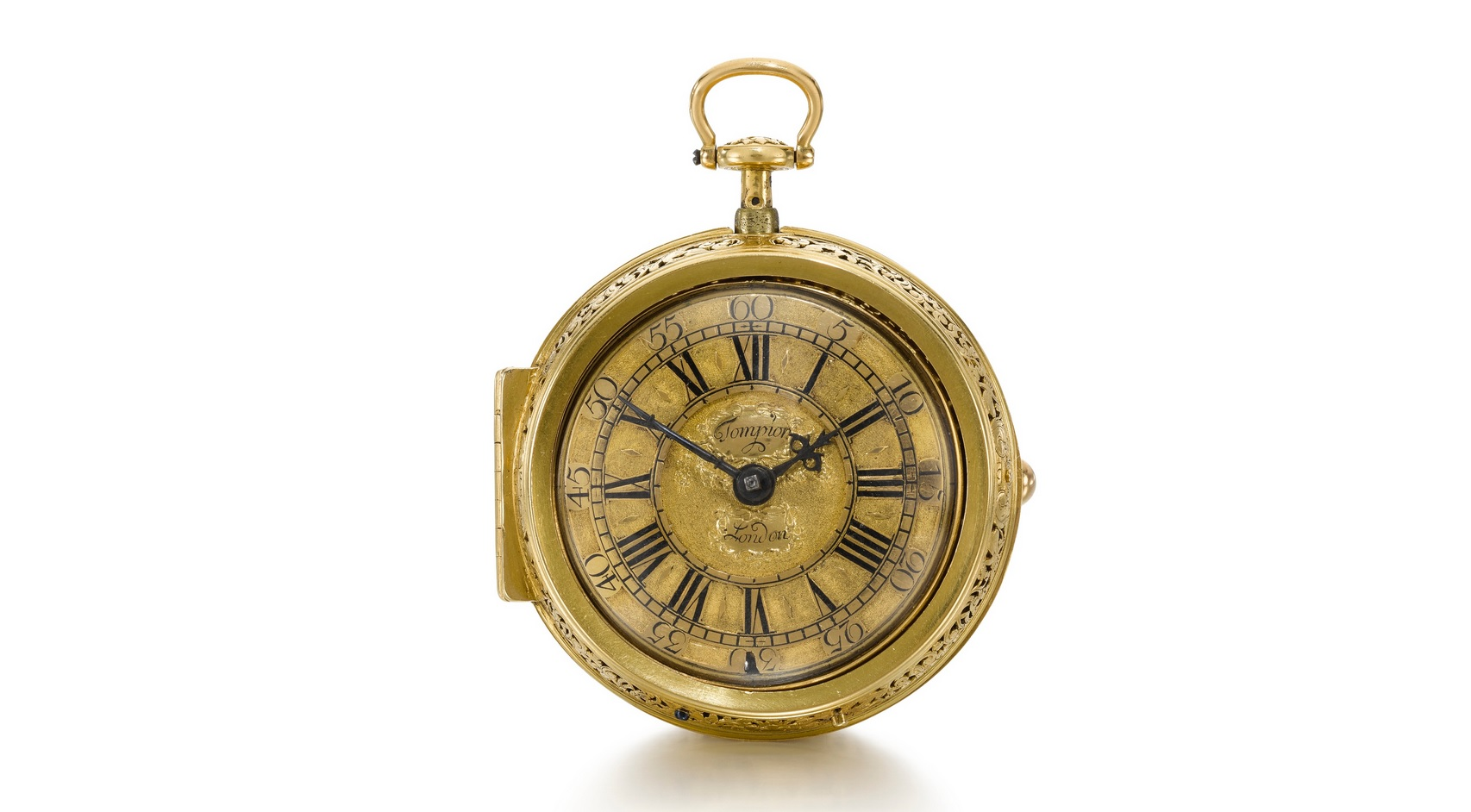 Thomas Tompion 1708 Pocket Watch Sothbeys Auction