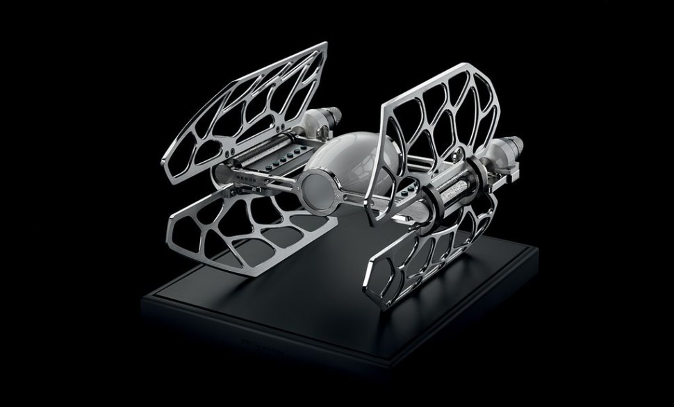 The TIE Fighter Music Box Takes Star Wars Fandom to Pricey New Heights