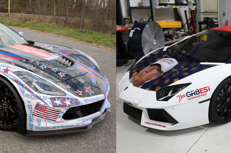 Would You Rather: Donald Trump Lamborghini or Bernie Sanders Corvette?