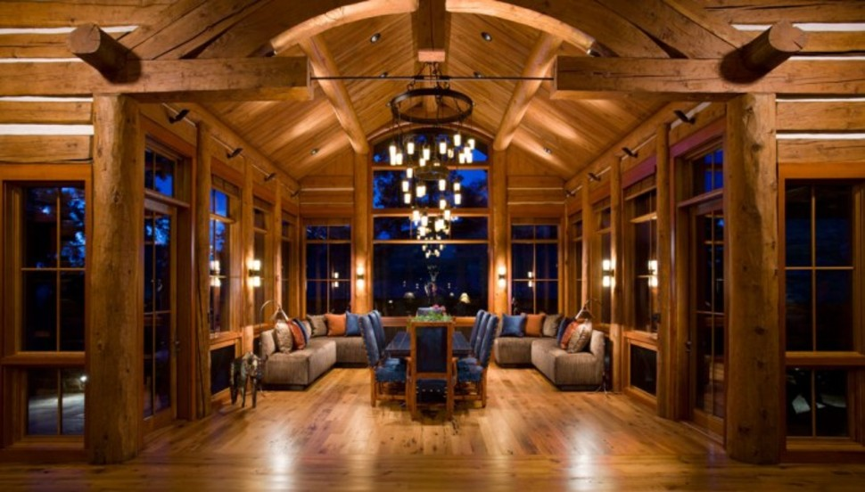 This Log Cabin Costs 13 Million Luxury4play Com