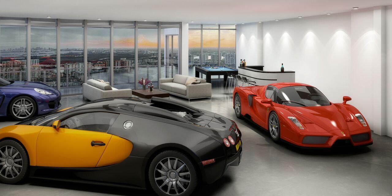 The Porsche Design Tower is Literally Billionaire City