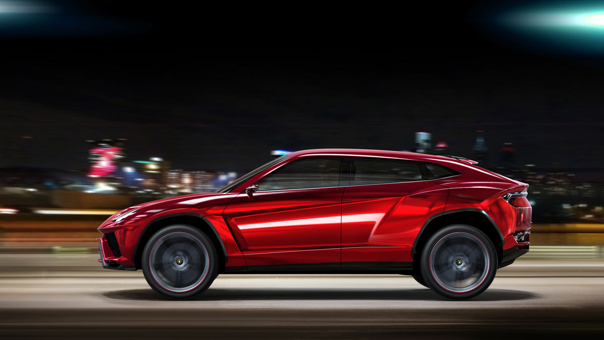 Lamborghini SUV to be Brand's First Plug-In Hybrid