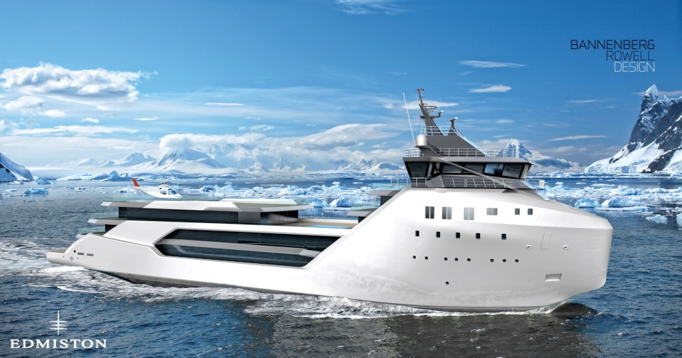 This Supply Ship Turned Superyacht Has a $62 Million Price Tag