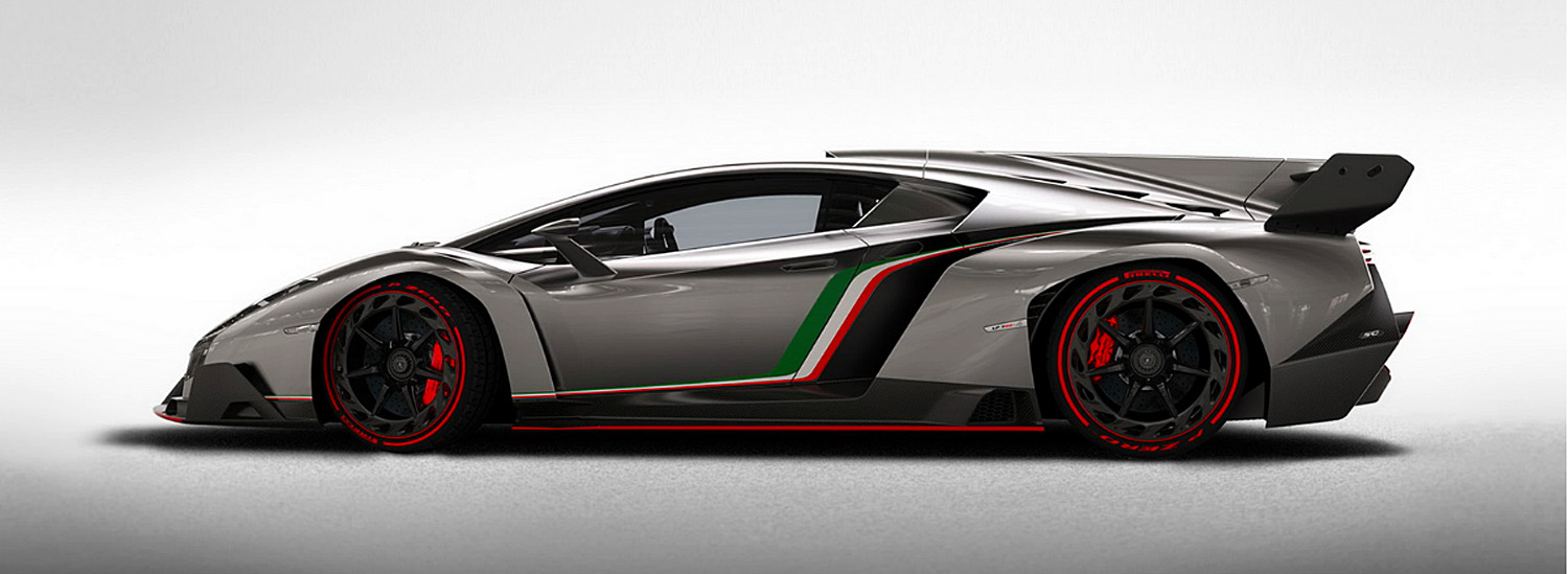 The First-Ever Lamborghini Veneno Coupe Could Be Yours For This Crazy Price