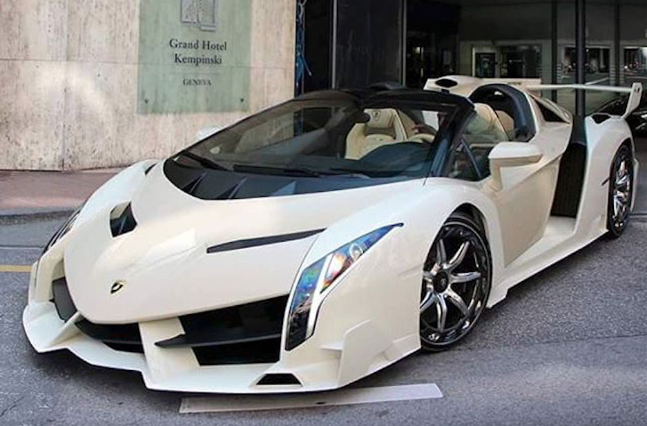 This Lamborghini Veneno Roadster Just Took Over Instagram