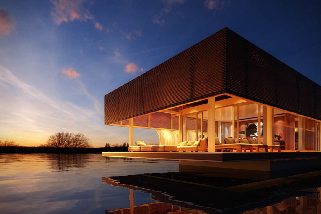 The Waterlovt Houseboat is the Floating Home of Your Dreams
