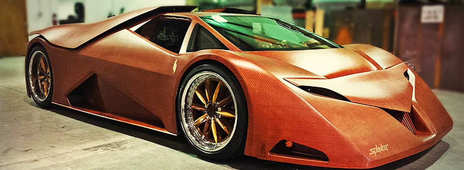 Did Someone Actually Build a Supercar Made Entirely of Wood?