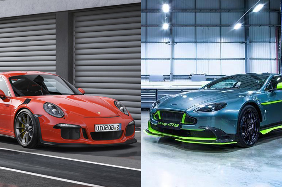 Would You Rather: Aston Martin Vantage GT8 or Porsche 911 GT3 RS