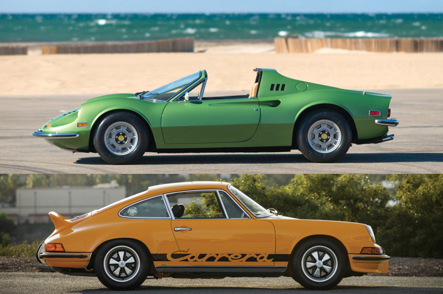 Would You Rather: Porsche 911 2.7 RS or Ferrari Dino 246 GTS?