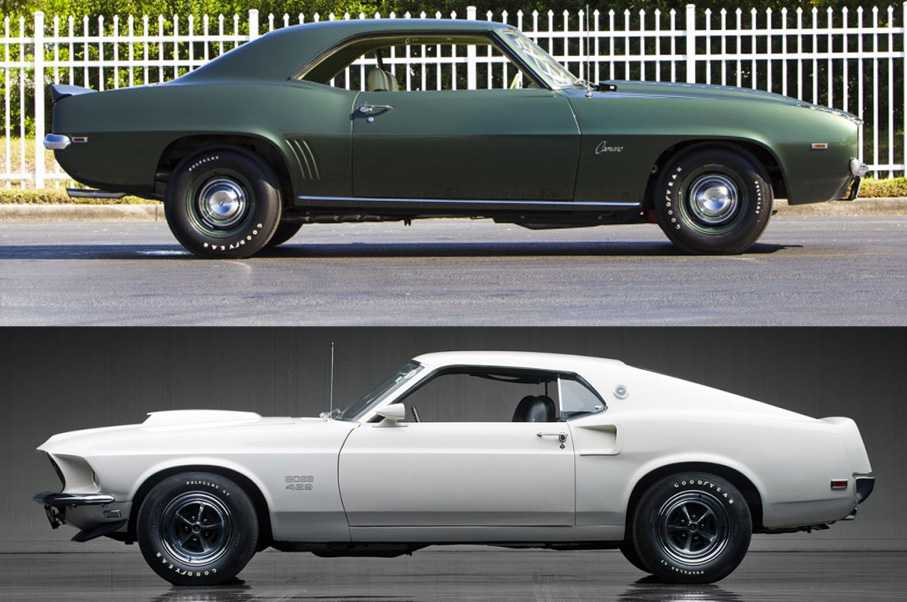 POLL 1969 Ford Mustang Boss 429 Or 1969 Chevrolet Camaro