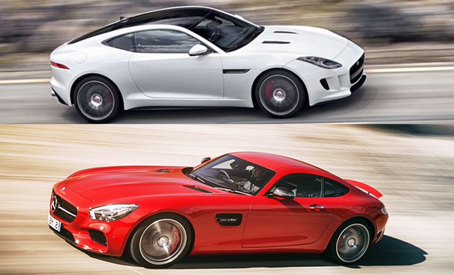 Would You Rather: Jaguar F-Type Coupe R OR Mercedes-AMG GT S