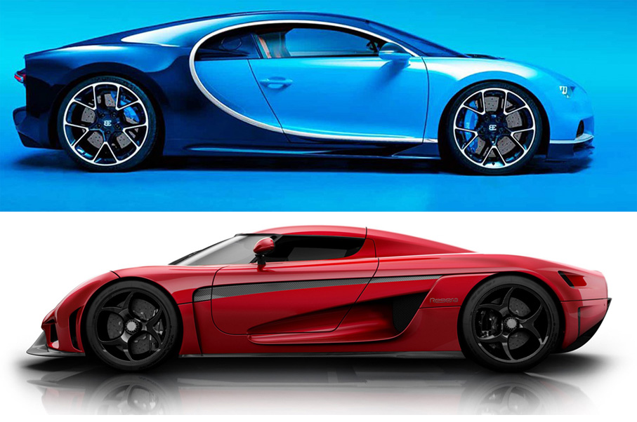 Would You Rather: Bugatti Chiron or Koenigsegg Regera ?