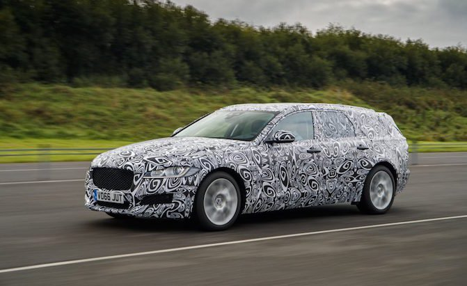 New Jaguar XF Wagon Coming to the US
