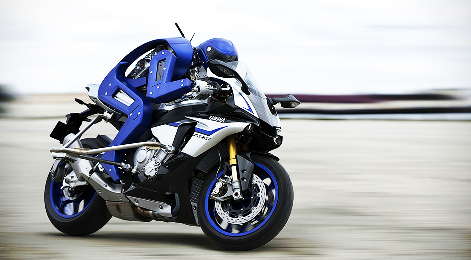 Yamaha Just Built This Cool Motorcycle-Riding Robot For A Really Good Reason
