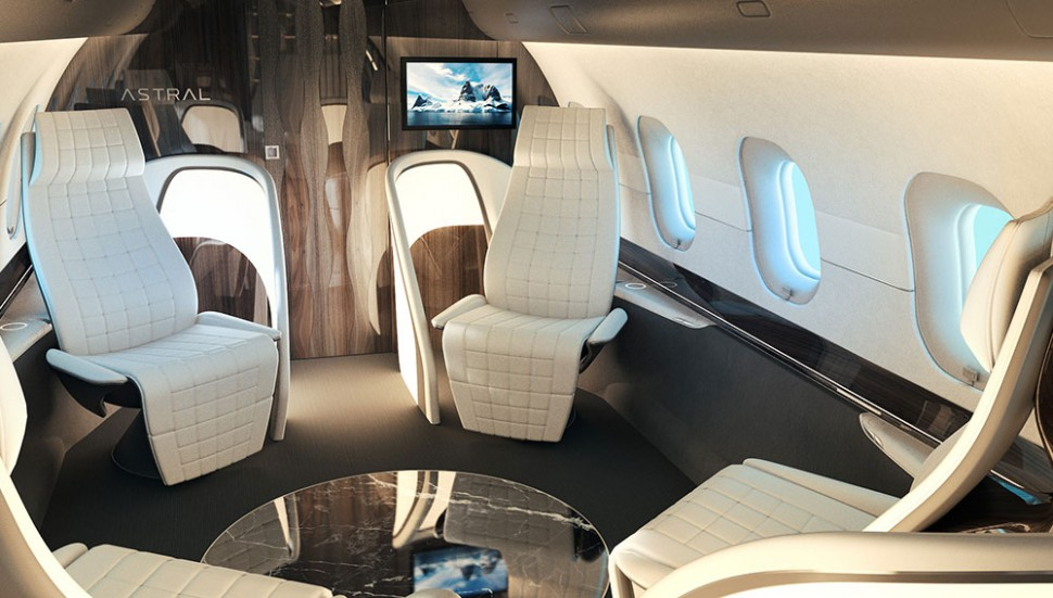 Remarkable This Luxury Private Jet Interior Is As Comfortable And Machost Co Dining Chair Design Ideas Machostcouk