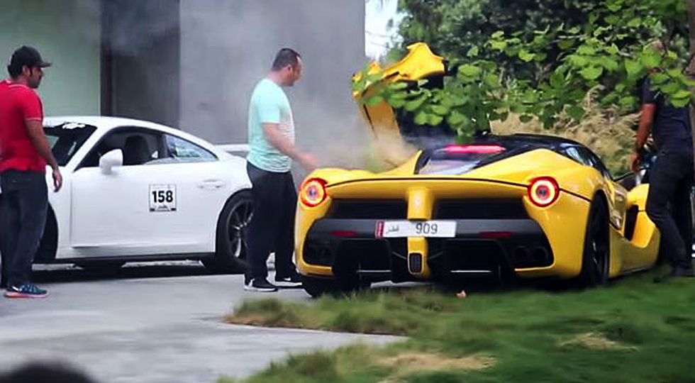 Top 3 Things We Know About the Speeding LaFerrari Scandal