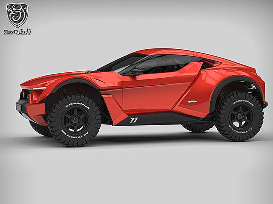 "Automotive Designer Salary >> The Zarooq Sand Racer is a Street Legal Luxury Rally Racer—and Sibling to the ""Arab Supercar ..."