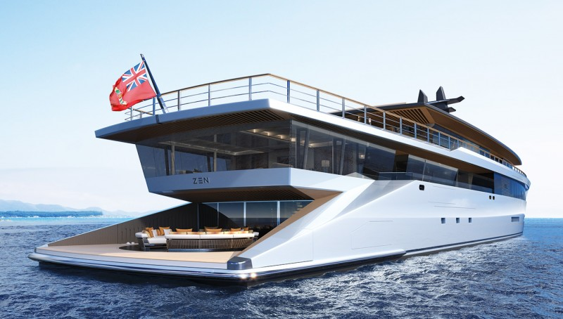 Double Decker Superyacht Concept Could Be the Ultimate Party Place