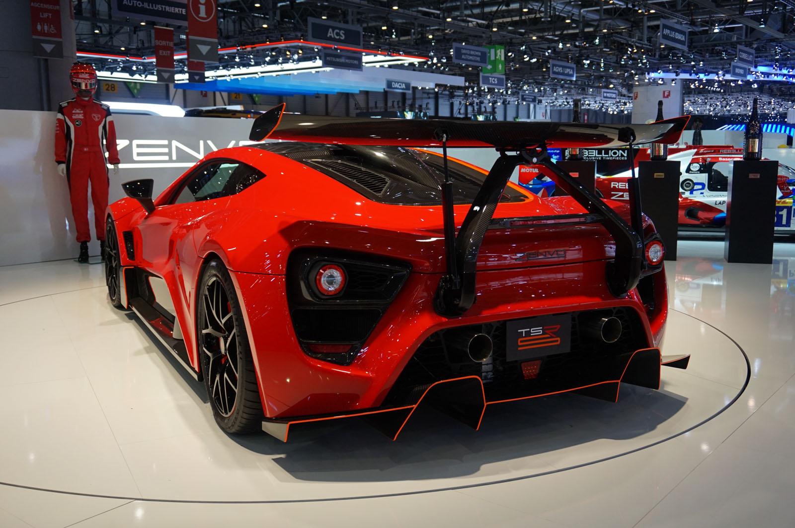 Top 5 Exotic Cars of the 2018 Geneva Motor Show - Luxury4Play.com