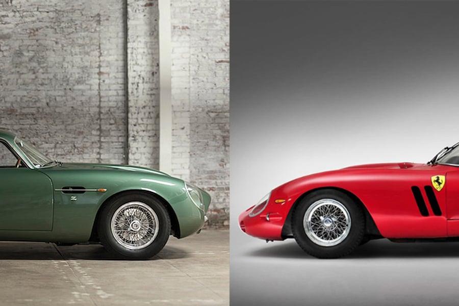L4p Battle Aston Martin Db4gt Zagato Vs Ferarri 250 Gto Series 1 Luxury4play Com